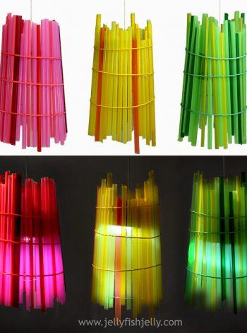Solar Straw Lantern