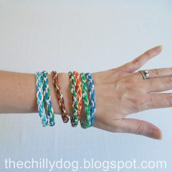 Upcycled Wire Bracelet