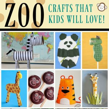 Zoo Animal Crafts and Recipes