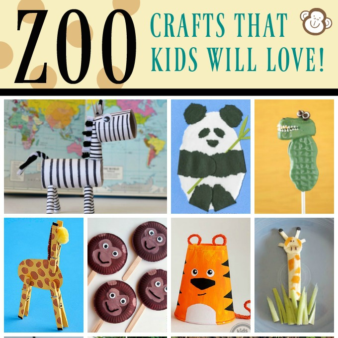 zoo animal crafts and recipes fun family crafts