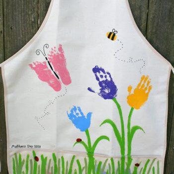 Handprint & Footprint Apron