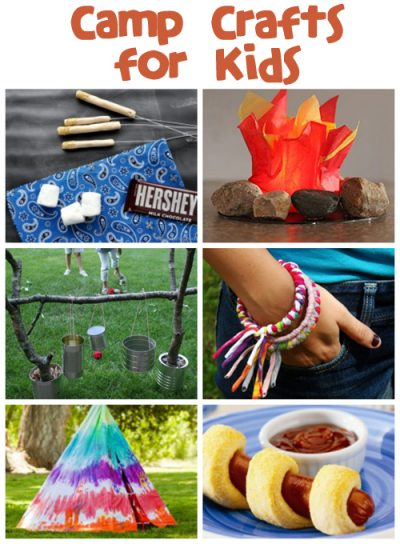 Get the instructions for ––> Camp Crafts & Recipes