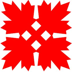 Kerigami Canadian Maple Leaf