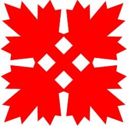 Kerigami Canadian Maple Leaf