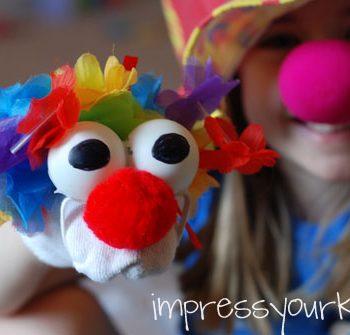 Circus Clown Puppet