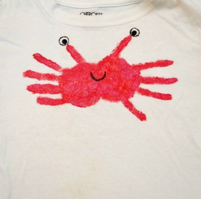DIY Crab T-Shirt