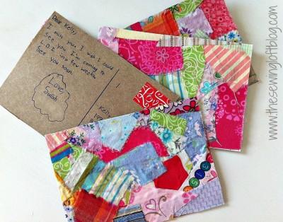 Homemade Postcards