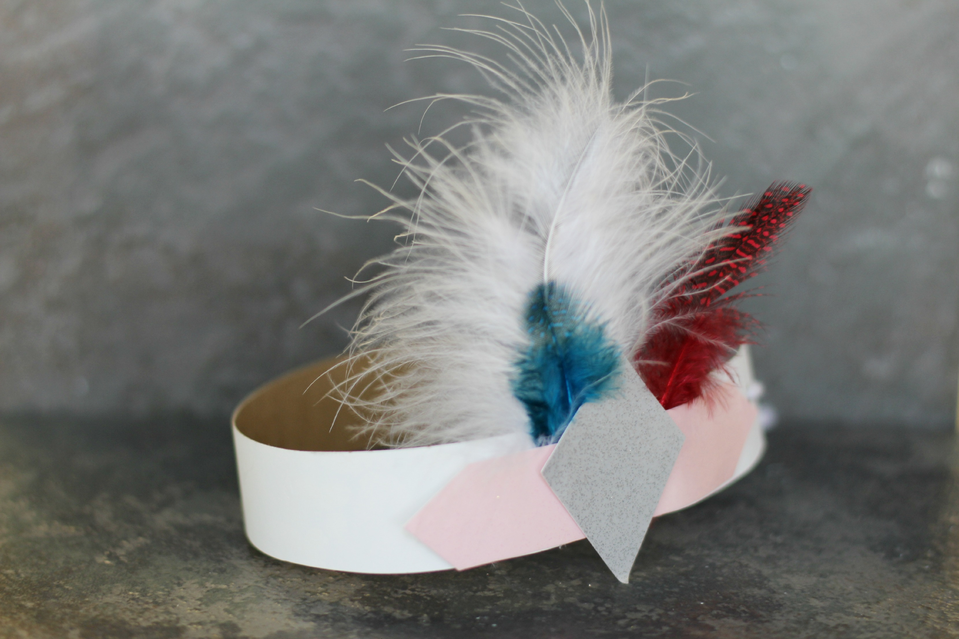 1920's Inspired Feather Headband