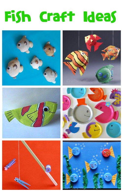 Fish Crafts & Recipes