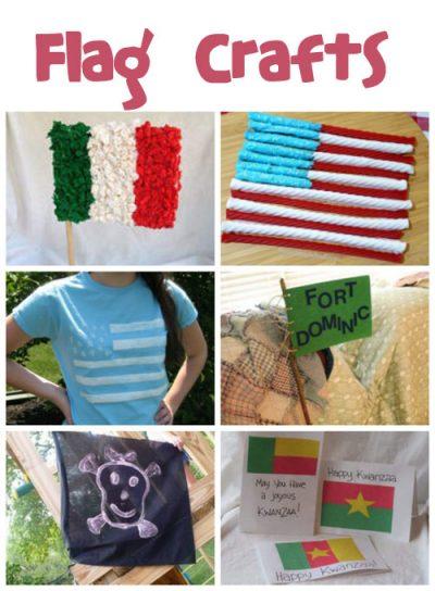 Flag Crafts for Kids