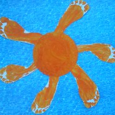 footprint sun craft for summer