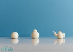 Mini Gumpaste Teapot
