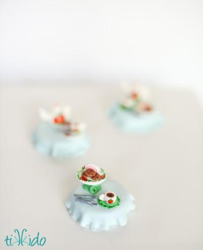 Mini Gumpaste Spoons and Forks