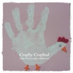 Handprint Hen