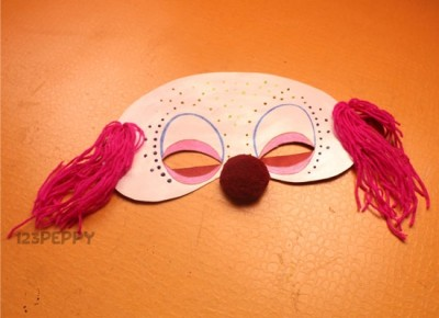 Clown Mask Fun Family Crafts