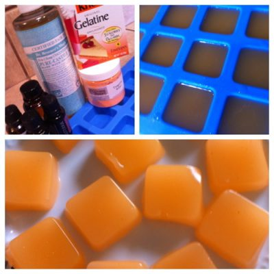 Homemade Shower Jellies