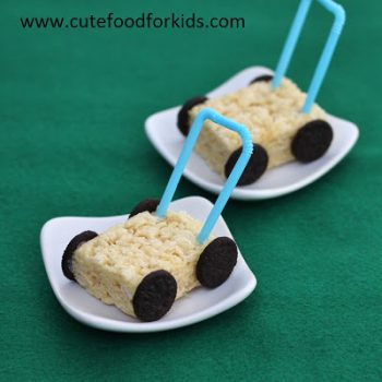 Rice Krispies Treat Lawn Mower