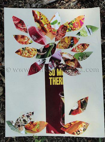 Fall Magazine Tree