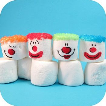 Marshmallow Clowns