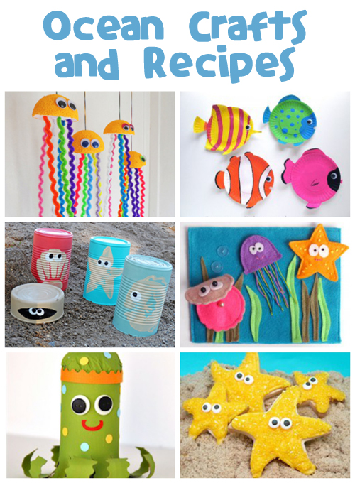 Ocean Crafts & Recipes