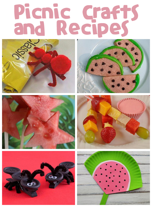 Picnic Crafts and Recipes | Fun Family Crafts