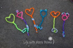 Pipe Cleaner Bubble Wand