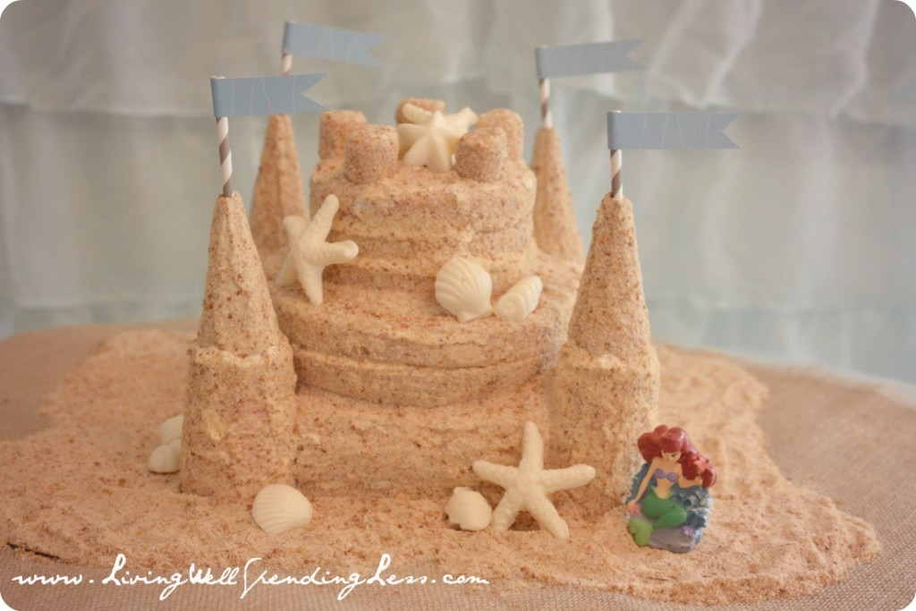 Sand Castle Cake Fun Family Crafts