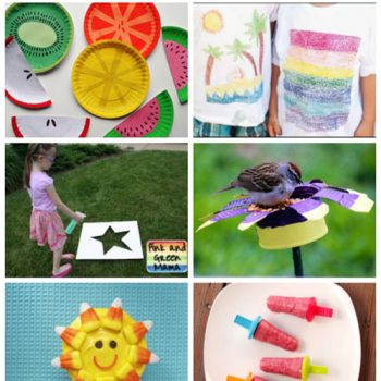 Summer Crafts & Recipes