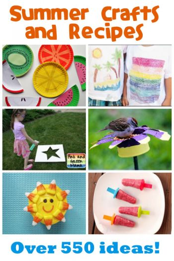 Summer Crafts & Recipes