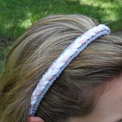 Braided Recycled T-shirt Headband