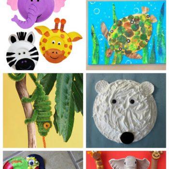 Zoo Animal Crafts & Recipes