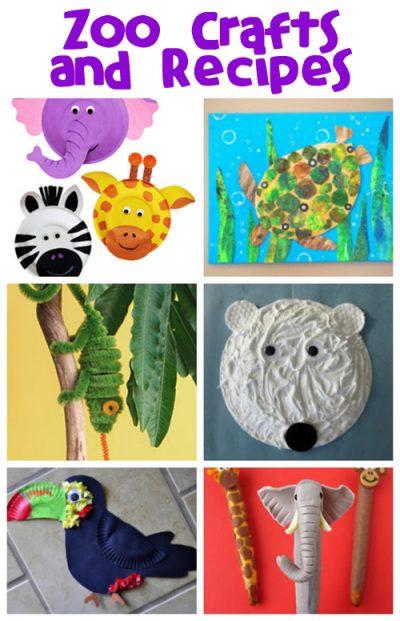 Zoo Animal Crafts Fun Family Crafts