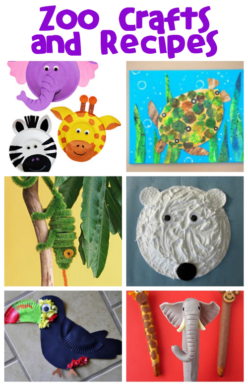 Zoo Animal Crafts & Recipes