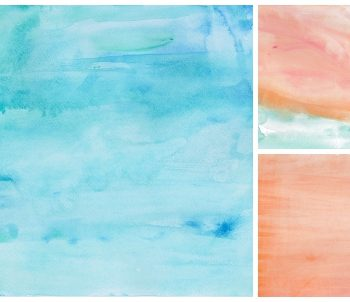 Watercolor Scrapbook Paper