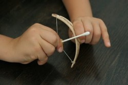 Tiny Bow and Arrow
