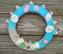 Peeps Summer Beach Party Wreath