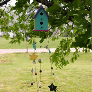 Bird House Wind Chime