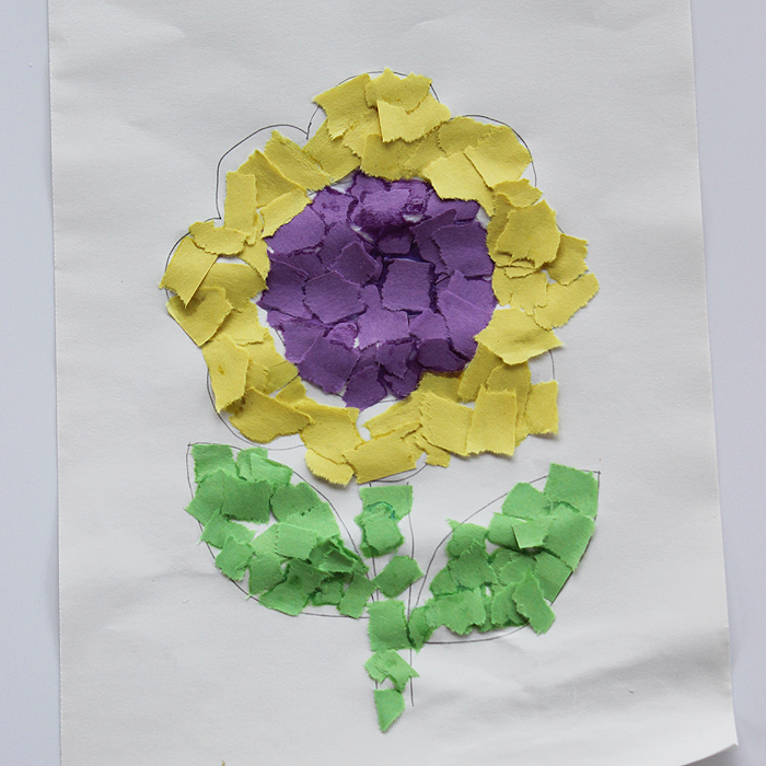 Mosaic Sunflower Fun Family Crafts