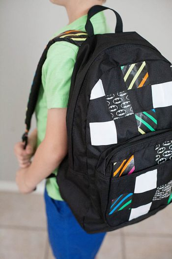 Duct Tape Personalized Backpack