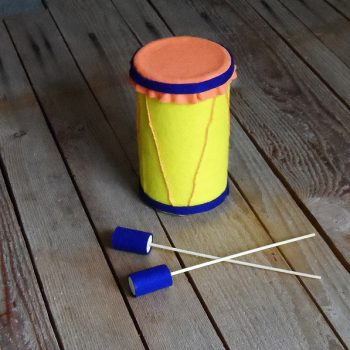 Oatmeal Container Drum