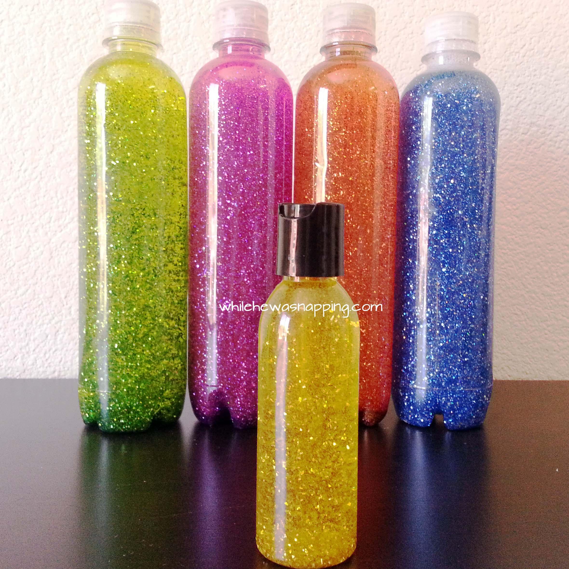 Sparkle Bottles Fun Family Crafts