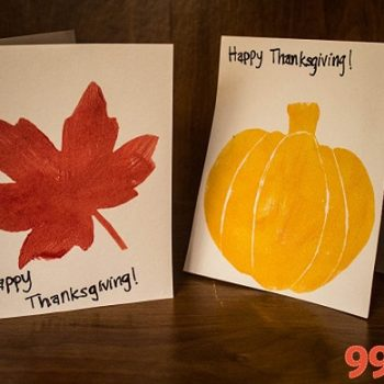 Fall-themed Foam Stamps