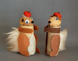 Cardboard Tube Squirrel