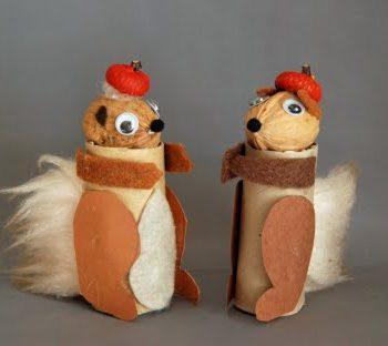 Cardboard Tube Squirrel