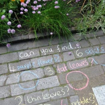 Chalk Scavenger Hunt