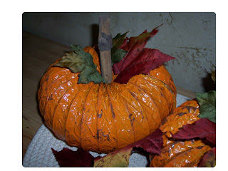 Dryer Vent Pumpkin