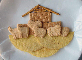 Edible Noah S Ark Fun Family Crafts