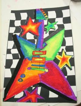 """Art Rocks"" Guitars"