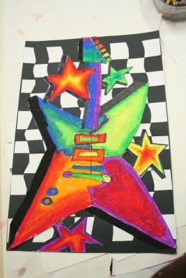 """Art Rocks"" Guitars"