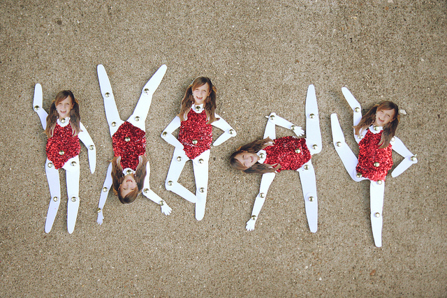 Paper Doll Gymnast